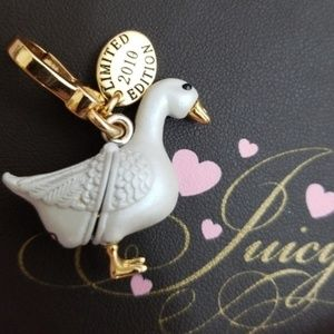 Rare Juicy Couture Limited 2010 Goose Charm